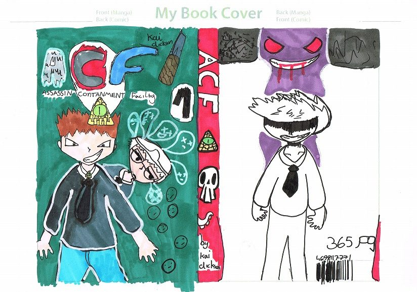 Desing your Manga cover!